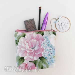 hand-made kosmetyczki kosmetyczka saszetka vintage kwiaty