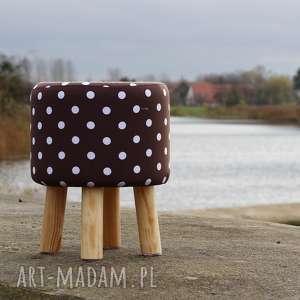Pufa Pretty Woman - 36 cm , pufa, taboret, ryczka, stołek, siedzisko
