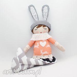 patchworkmoda lala przytulanka kalinka śpioszka, 46 cm, lala, lalka, prezent
