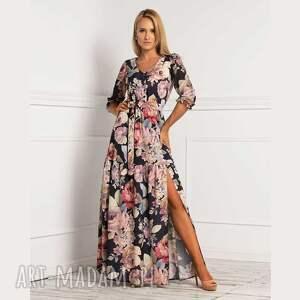 sukienki sukienka luisa maxi genevieve, maxi, długa sukienka