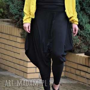 sukienki czarne ekstrawaganckie, oryginalne spodnie, luzne, spodnie