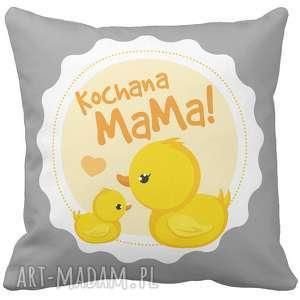 Prezent Poduszka dekoracyjna na prezent Kochana Mama dzień Matki Mamy 6779, poduszka