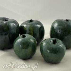 ceramika jabłko - rękodzieło , ceramik, jabłko, handmade