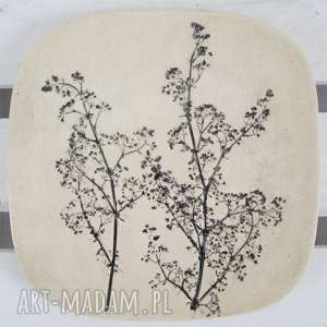 Prezent talerzyk roślinny na wszystko, ceramiczny, roślinny, naturalny, eco