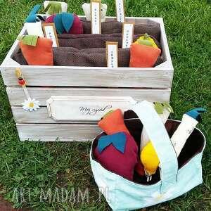 Prezent ogródek , zabawka, skrzynka, ogródek, warzywa, prezent