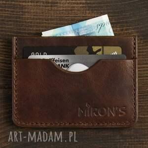 Portfel minimalistyczny , portfel, skórzany, etui, portfelik