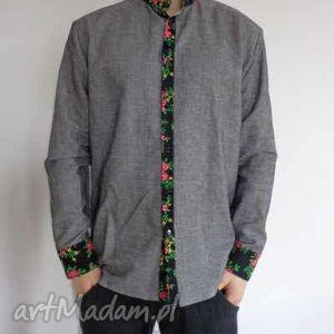 koszulki koszula męska folk design, folk