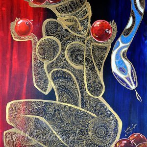 Prezent Ewa, 4mara, obraz, ewa, miłość, prezent, kobieta