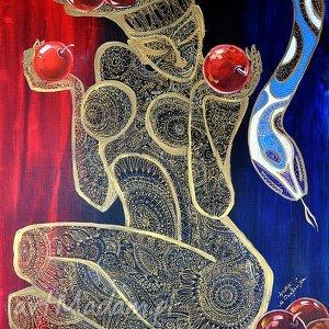 Marina czajkowska obraz, obraz ewa, miłość, prezent,