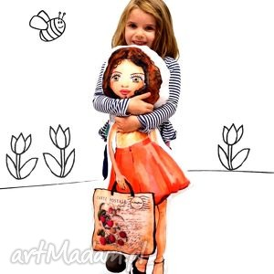 lala do tulenia, przytulanka 90 cm, monika - lala, lalka, przytulanka, poducholalka