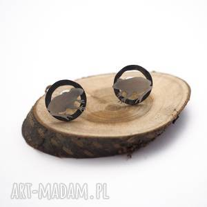 srebrne kolczyki żabki - zwierzątka srebro, boho