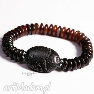agat i lawa unisex, agat, lawa, kamienie, minimalistyczna, przent męska