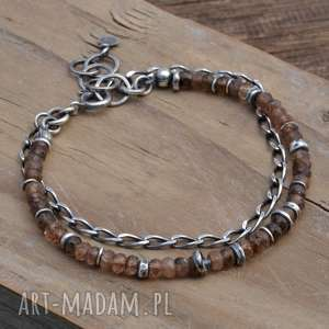 hand-made bransoletki andaluzyt. srebrna bransoletka