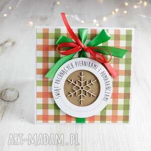 kartka świąteczna na boże narodzenie po godzinach - święta