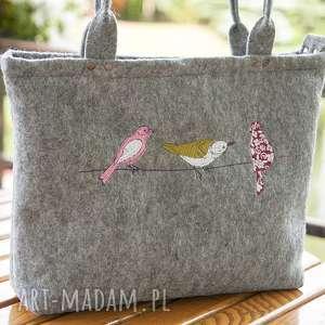 ręcznie robione torebka filcowa do ręki