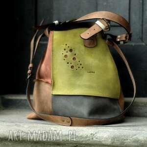 podróżne piękna torba z naturalnej skóry alicja od ladybuq art idealna