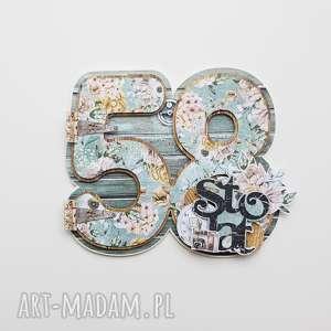 Scrapbooking kartka urodziny rocznica kartki iride handmade