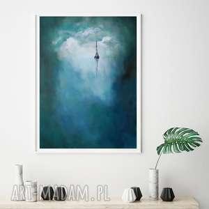 morze-obraz akrylowy formatu 50/70 cm, morze, płótno, akryl, obraz