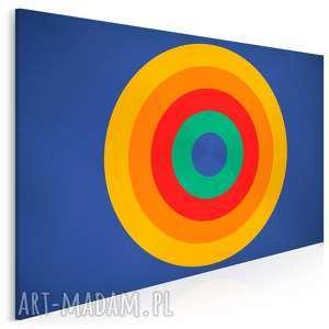 vaku dsgn obraz na płótnie - koło kolory 120x80 cm 05801, koła