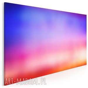 obraz na płótnie - abstrakcja kolory 120x80 cm 25101, kolory