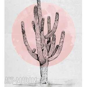 plakaty plakat minimalistyczny kaktus 50 x 70, minimalizm, kaktus