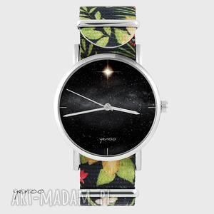 Prezent Zegarek - Star kwiaty, nato, zegarek, bransoletka, gwiazda, kosmos,