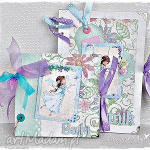 ręcznie wykonane scrapbooking albumy prezent dla dziewczynki