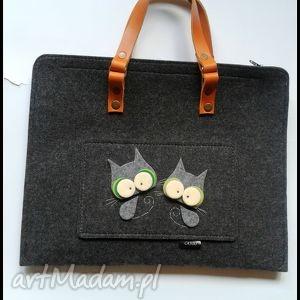 teczki teczka z kotkami, prezent, teczka, torebka, kotki, do szkoły, dla dziecka