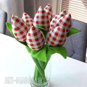 woisenne tulipany 8 szt, bukiet, wiosna, kwiaty, salon