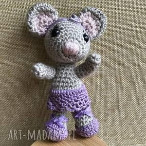 handmade zabawki wyprzedaż! Myszka baletnica