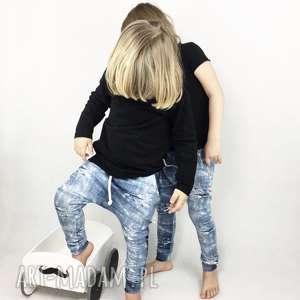 spodnie chłopięce baggy jeans, dla chłopca, dziecka