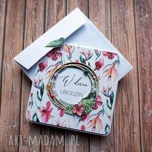 Smak egzotyki scrapbooking kartki cynamonowe ślub, imieniny
