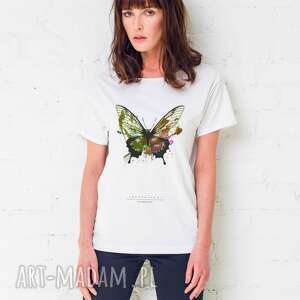 BUTTERFLY PAINTED T-shirt Oversize, oversize