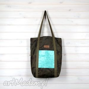 12e42fb8a5e39 Na ramię handmade wodoodporna torba zielone170