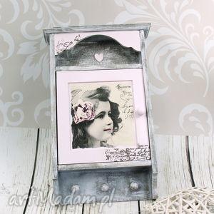 unikalny prezent, szafka na klucze- sweet girl, szafka, na, klucze, wieszak, retro