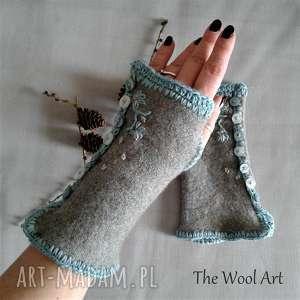Prezent rękawiczki mitenki, rękawiczki, nadłonie, prezent, wełniane, ciepłe