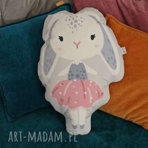 poduszka - przytulanka krÓlik - królik, poduszka, przytulanka, urodziny, prezent