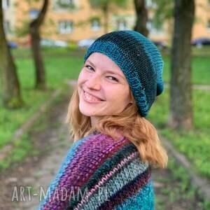 ręcznie zrobione czapki bawełniana czapka