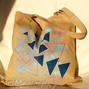 Ekotorba Z Ręcznie Malowanym Wzorem, eko-torba, torba, worek, ręczniemalowane
