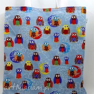 na ramię art torba eko sówki, torba, torebka, zakupy, prezent święta