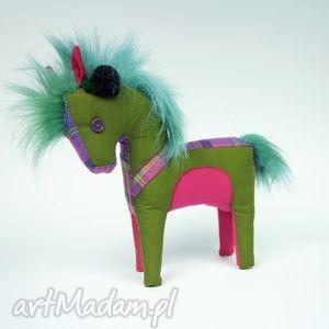 Konik - zabawka przytulanka hand made zabawki mimi monster konik