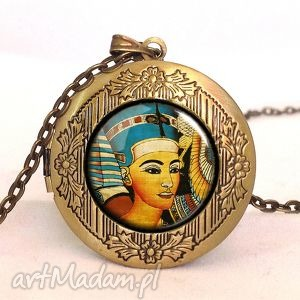 egipt - sekretnik z łańcuszkiem - hierolgify, naszyjnik egipski