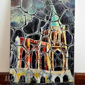 Opactwo Bukowiec 35x50 cm, pałac, zamek, architektura, 4mara