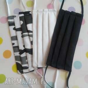 akukuuu maseczki męskie pakiet 3 sztuki, maseczki, maski, męskie, czarne, duże