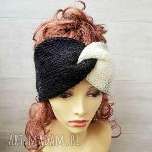hand-made opaski opaska retro turban - ombre
