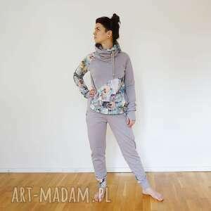 Dres damski - pastele sportowe mimi monster pastelowa bluza
