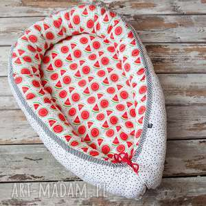 hand-made pokoik dziecka kokon, gniazdko niemowlęce arbuzy