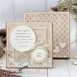 scrapbooking kartki pamiątka ślubu personalizacja treści pudełeczko, ślub
