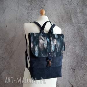 ręcznie robione wegański plecak