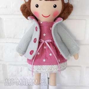 Prezent MALOWANA LALA PAULINKA, lalka, zabawka, przytulanka, prezent, niespodzianka,